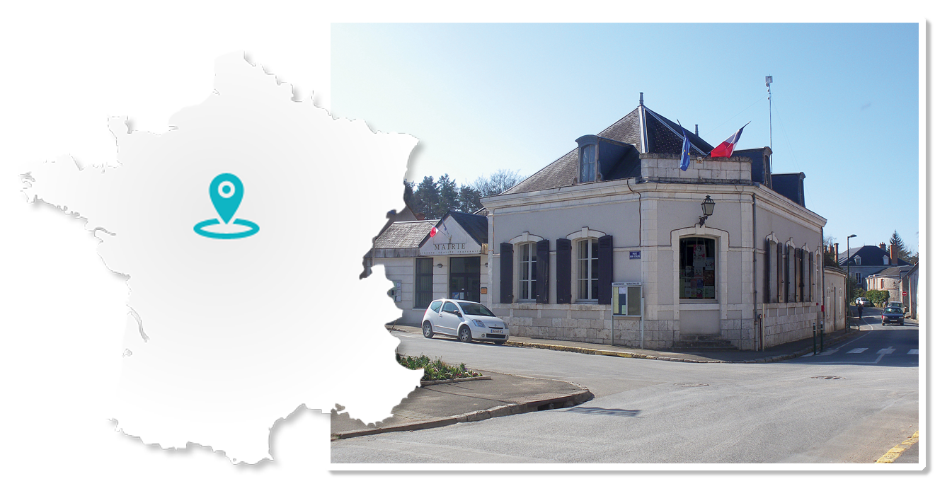 mairie de lailly en val photo